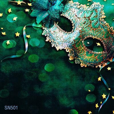 masquerade party  10x10 FT CP  PHOTO SCENIC BACKGROUND BACKDROP Sn501 - Masquerade Backdrop