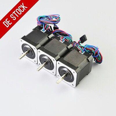 DE Ship 3PCS 59Ncm Nema 17 Stepper Motor 2A 1m Cable DIY 3D Printer CNC Robot