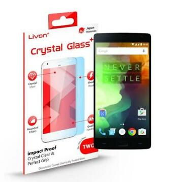 Livon 9H Crystal Glass+ Screen Protector OnePlus 2