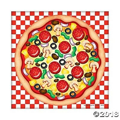 12 Make A Pizza Sticker Sheets Birthday Party Favors Gifts