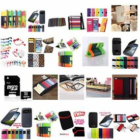 Job Lot Of Mix Case Cover Skin For Mobile Phones Apple iphone 5 6 Samsung Note - Brand new packed