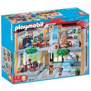 Playmobil 5923 Small School Brand New Opened Box