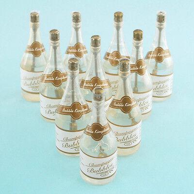 Mini Wedding Bubbles Bottle Souvenir Keepsake - Bubble Bottle