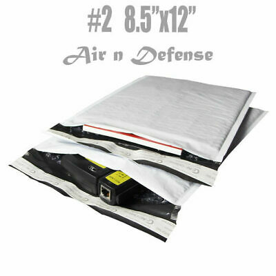 400 2 8.5x12 Poly Bubble Padded Envelopes Mailers Shipping Bags Airndefense