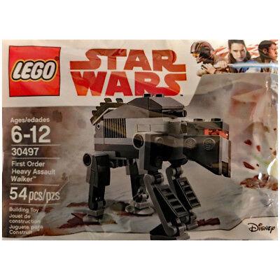 Lego 30497 Star Wars First Order Heavy Assault Walker Last Jedi Polybag   New