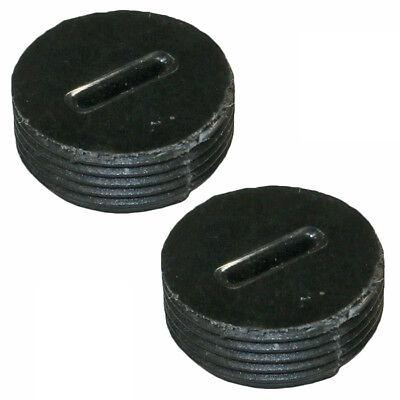 Dewalt 2 Pack Of Genuine OEM Replacement Brush Caps # N024448-2PK