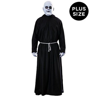 Addams Family Uncle Fester Gothic Halloween Dress Up Party Mens Fancy Costume