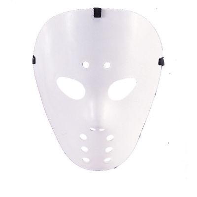 Maske Hockey, weiß Hockeymaske Halloween
