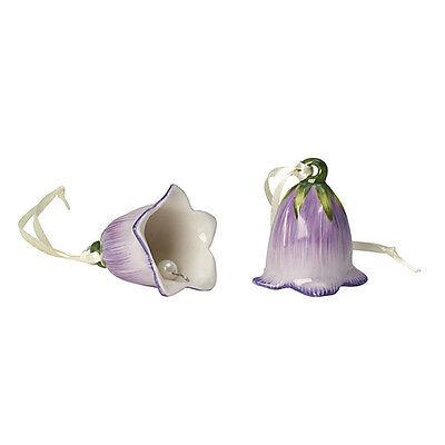 VILLEROY & BOCH Mini Flower Bells Glockenblume Set 2 tlg Porzellan Osterdeko NEU