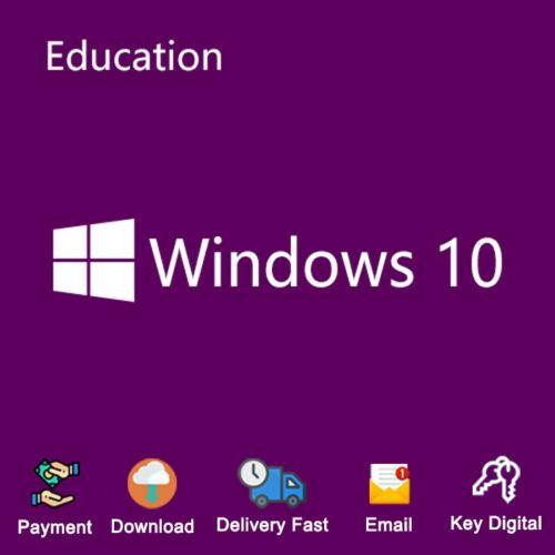 Windows 10 Education 32/64bit Link Download Activation Genuine