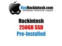 Hackintosh 250GB SSD customised for your hardware specifications