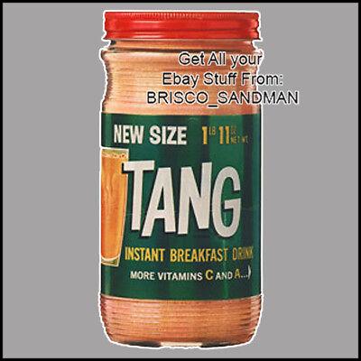 Fridge Fun Refrigerator Magnet TANG JAR Drink Vers: A- DIECUT Vintage Retro Art - Fun Fridge Magnet