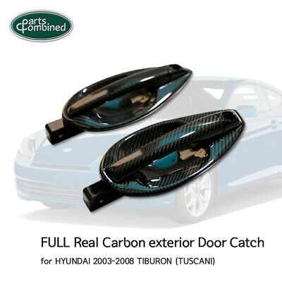 FULL Real Carbon exterior Door Catch for HYUNDAI 2003-2008 TIBURON (TUSCANI)