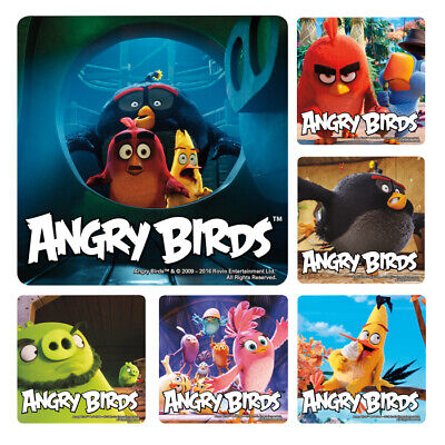 20 Angry Birds Movie Stickers Party Favors Teacher Supply Rewards Birthday