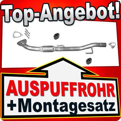 Auspuff Seat Cordoba 1.4i 16V Volkswagen Polo 1.4i 16V Auspuffanlage *4162