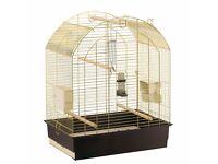Large brass bird cage