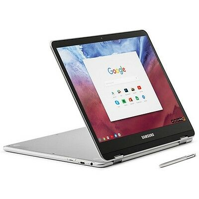 "Samsung XE513C24-K01US Chromebook Plus 12.3"" OP1 Convertible Touch Laptop w/ Sty"
