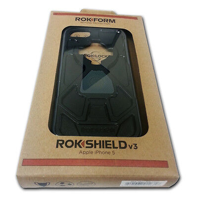 Rokform 430843 Rokshield v3 Case for iPhone 5 (GunMetal) on Rummage