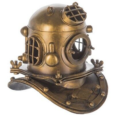 Antique Replica Deep Sea Diver Helmet Nautical Ocean Beach Decor
