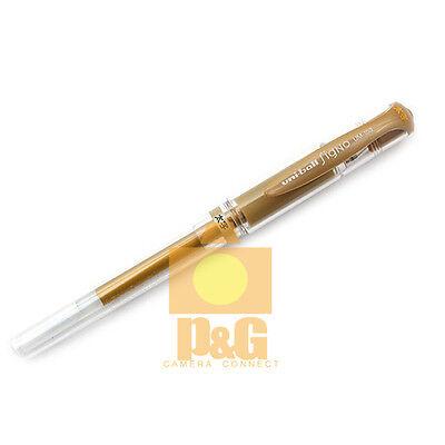 Mitsubishi Uniball Uni-ball Signo Broad Um-153 Gel Pen 1.0mm Gold Ink