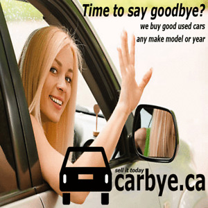 Time to say Goodbye to your car?