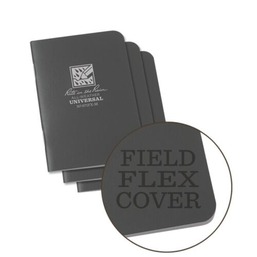Rite in the Rain 871FX-M All-Weather Universal Stapled Notebooks, Gray
