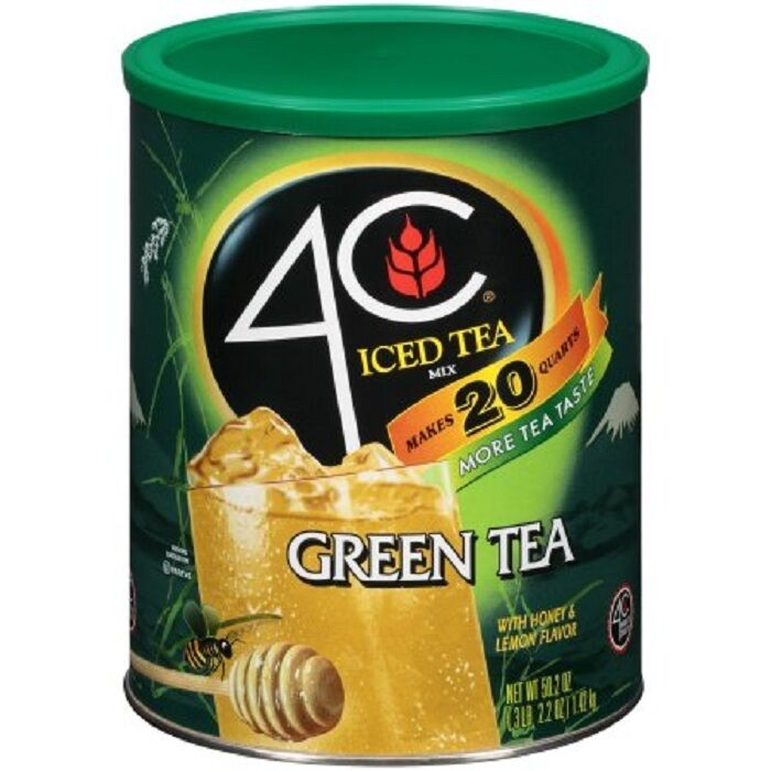 4C Drink Mix, Green Tea, 50.2 Oz, 6 Pack