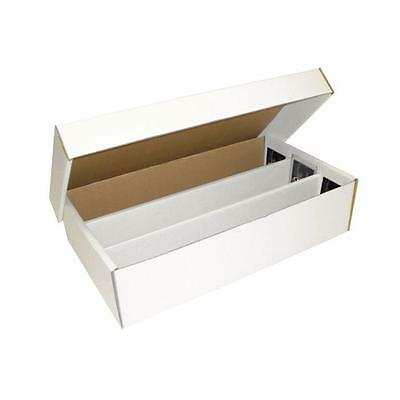 BCW Super Shoe box (3000 Count) Corrugated Cardboard Storage Boxes