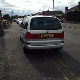Vw Sharan 1 owner with service history 2 keys