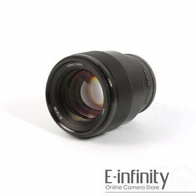 NEW Sony FE 85mm f/1.8 Lens (SEL85F18)
