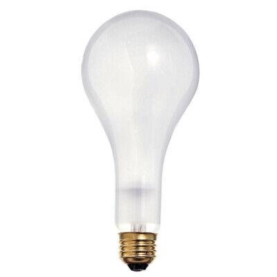 - Satco S4960 300W 130V PS25 Frosted E26 Medium Base Incandescent light bulb