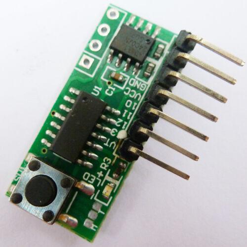 4 Channels EV1527 PT2264 PT2262 PT2260 PT2264 SC2262 Fixed Code Decoder Modules