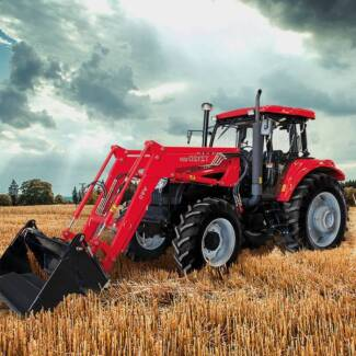 YTO X1254 - 4WD tractor - 125HP NEW - Finance/Rent-to-Own $360pw