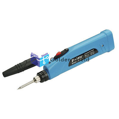 Proskit Si-b161 Battery Operated Soldering Iron 9w 4.5v Repair Welding Tool.