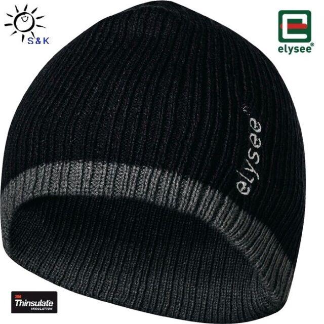 Feldtmann Thinsulate Mütze Ole Universal schwarz/grau 100% Polyacryl, PES 1 St.