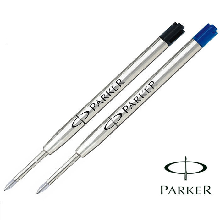 PARKER FINE (BELLO) QUINK RICARICA PER A SFERA / PENNA NERE o blu inchiostro