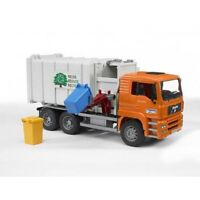 BRUDER MAN TGA Side Loading Recycling Truck