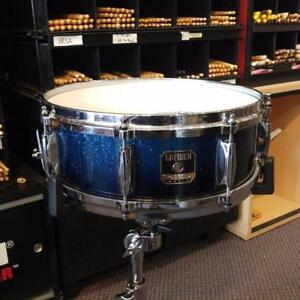Gretsch snare drum/caisse claire renown 14x5 bleu fade - used/usagée