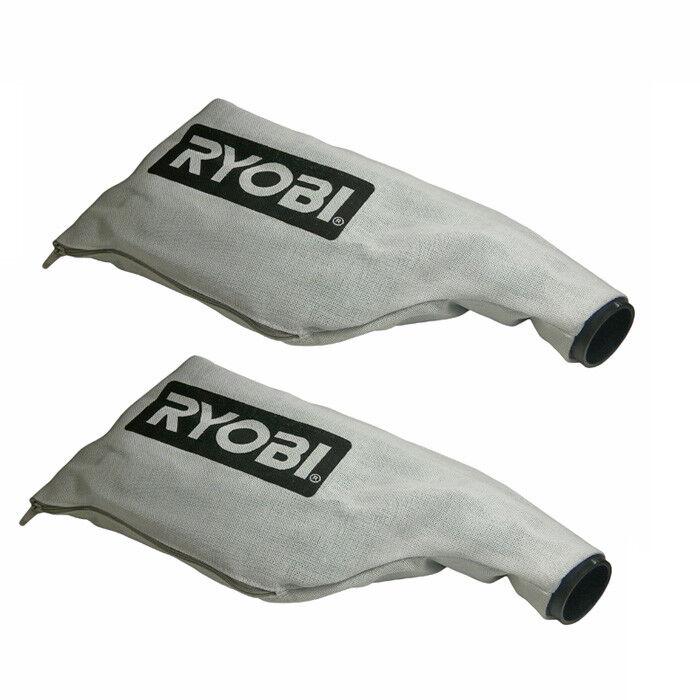 Ryobi TSS102L (2 Pack)of Genuine OEM Replacement Dust Bags # 080016005706-2PK