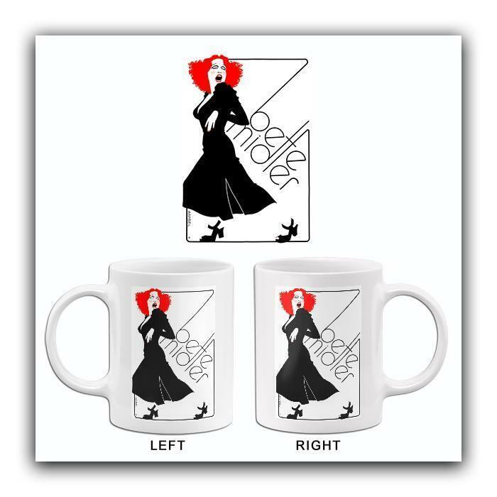Bette Midler - 1973 - Artist Promotional Mug
