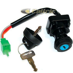 ignition key switch fits arctic cat 500 4x4 1998 1999 2000. Black Bedroom Furniture Sets. Home Design Ideas