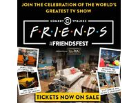 2x Friendsfest tickets including tour at 1:30pm