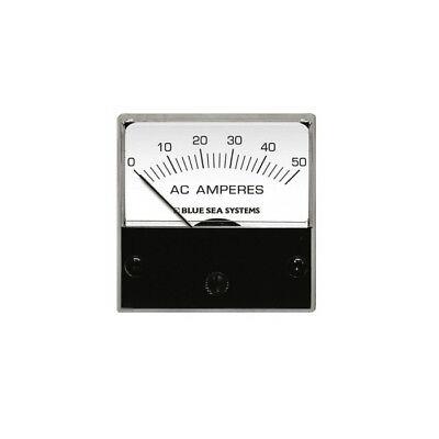 Blue Sea Systems AC Analog Micro Ammeter 0 to 50A with Coil 8246