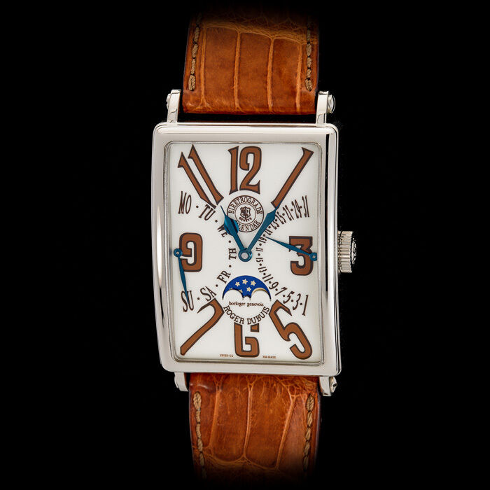 Roger Dubuis 18K WG Much More M34 Bi-retrograde Calendar Day Date Moonphase - watch picture 1