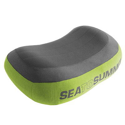 Sea To Summit Aeros Pillow Premium Regular Green    Free Intl Standard Shipping