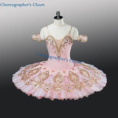 NEW! Professional Pink Ballet Tutu Nutcracker Princess Custom Costume MTO YAGP