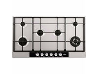 NEW - AEG HG956440SM 6 Burner Gas Hob, Stainless Steel - BARGAIN PRICE @ £200