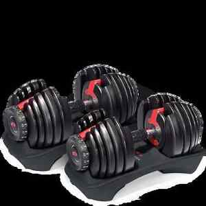 I want to buy Bowflex Selecttech dumbells with a stand Edmonton Edmonton Area image 1