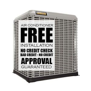 RENT TO OWN HIGH EFFICIENCY AIR CONDITIONER - FURNACE
