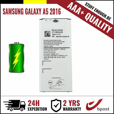 AAA+ REPLACEMENT VERVANG BATTERY/BATTERIJ/BATTERIE FOR SAMSUNG GALAXY A5 2016
